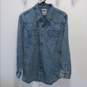 Levi's Western Denim Sawtooth Shirt